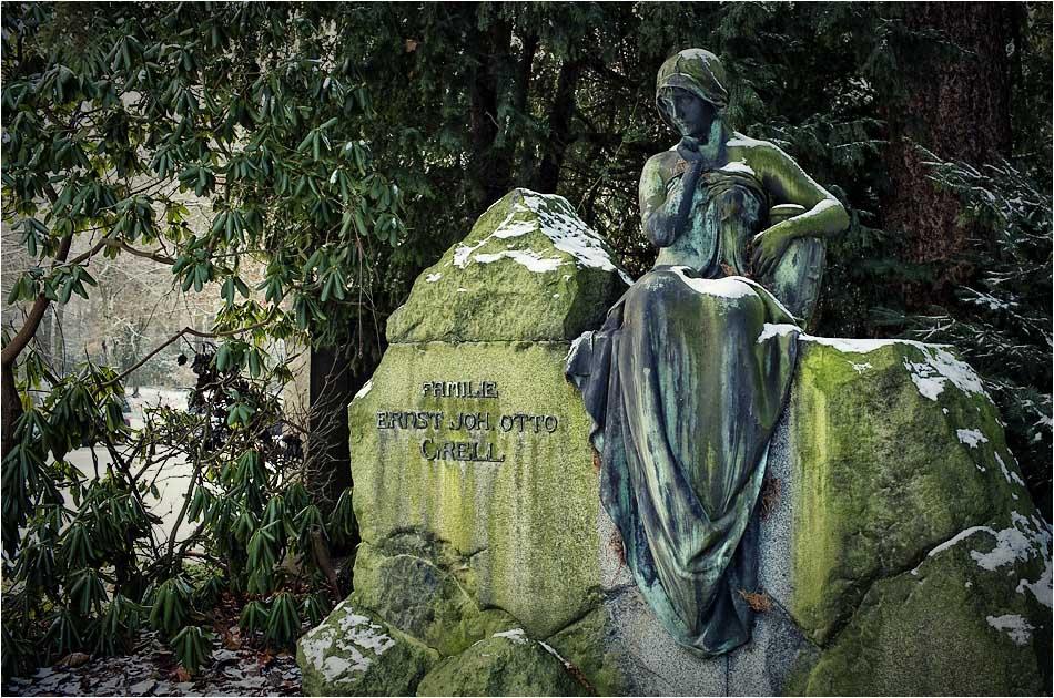 Grabmal Grell (1910) – Friedhof Ohlsdorf — Michael Wassenberg