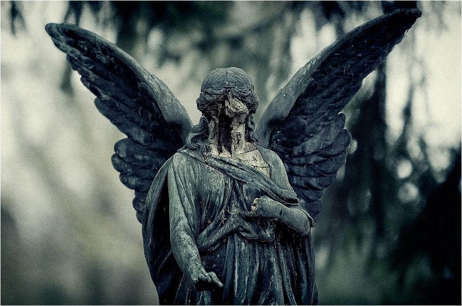 Gesichtsloser Engel — Friedhof Ohlsdorf — Michael Wassenberg