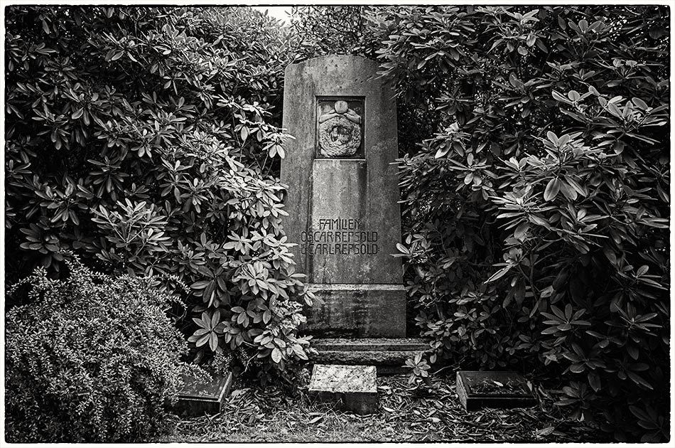 Grabmal Repsold (1911) — Friedhof Ohlsdorf — Michael Wassenberg