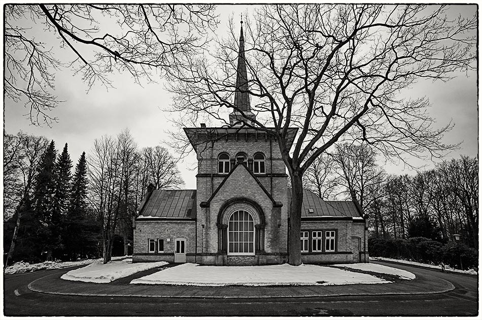 Kapelle 2 — Friedhof Ohlsdorf — Michael Wassenberg
