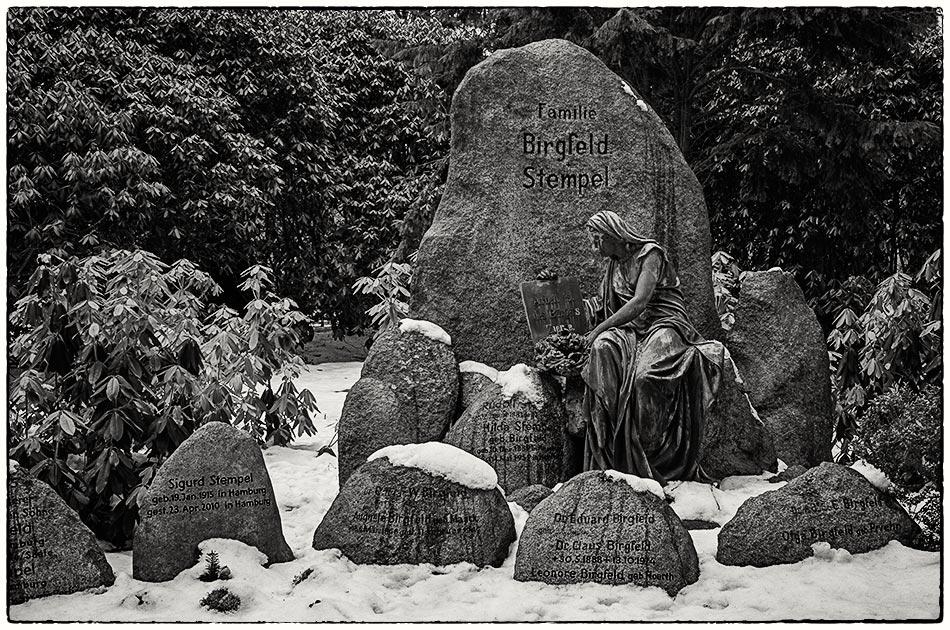 Birgfeld / Stempel (1906) — Friedhof Ohlsdorf — Michael Wassenberg