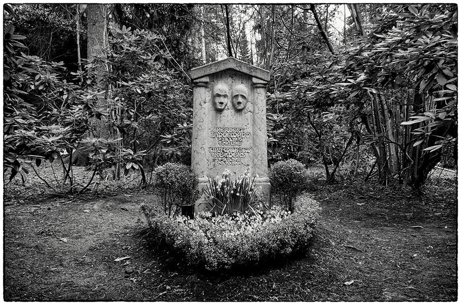 Grabmal Langemann / Reimers · Friedhof Ohlsdorf