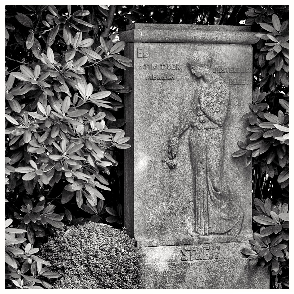 Grabmal Streit · Friedhof Ohlsdorf · Michael Wassenberg · 2016-08-07