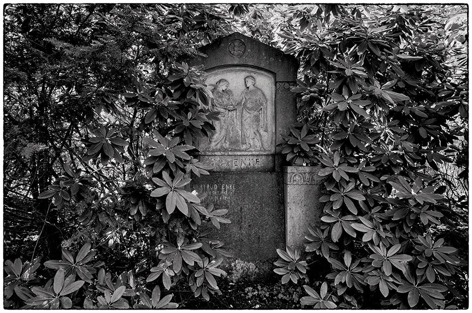 Grabmal Enke · Friedhof Ohlsdorf · 2018-04-29