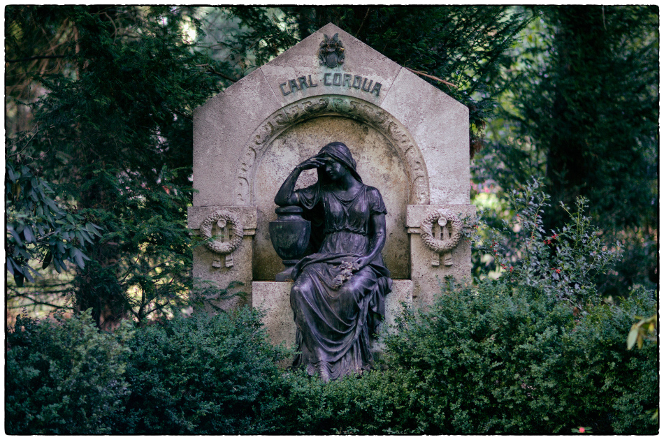 Carl Cordua · Friedhof Ohlsdorf · Michael Wassenberg · 2018-10-03