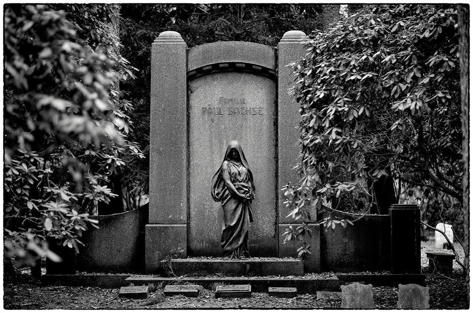 Grabmal Sachse (1909) · Friedhof Ohlsdorf · Michael Wassenberg · 25.11.2018