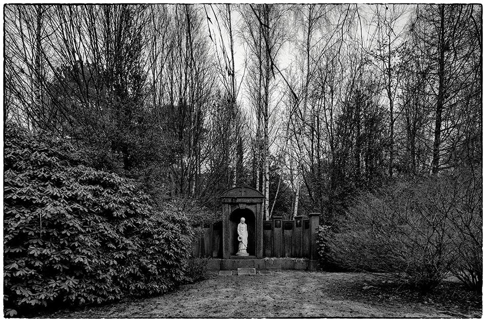 Grabmal Voss (1907) · Friedhof Ohlsdorf · Michael Wassenberg · 29.12.2019