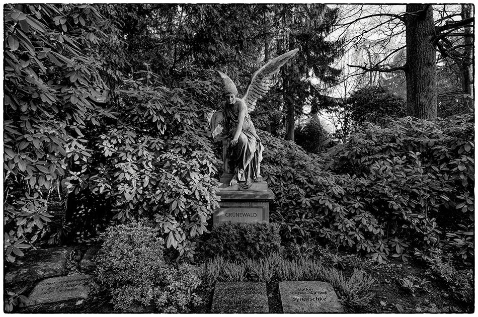 Grabmal Steinike/Brinckmann (1904) · Friedhof Ohlsdorf · Michael Wassenberg · 19.01.2020
