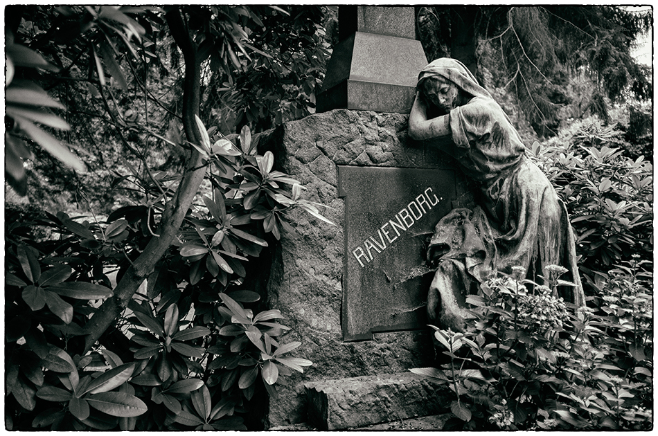 Grabmal Ravenborg (1909) · Friedhof Ohlsdorf · Michael Wassenberg · 16.06.2019