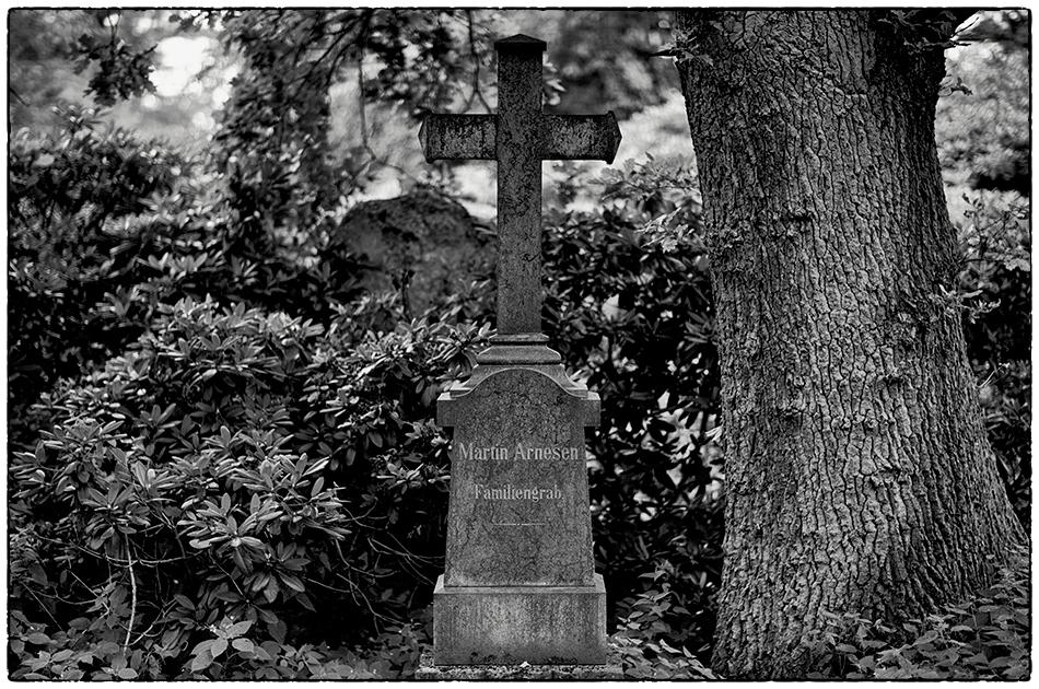 Grabmal Arnesen · Friedhof Ohlsdorf · Michael Wassenberg · 27.07.2020